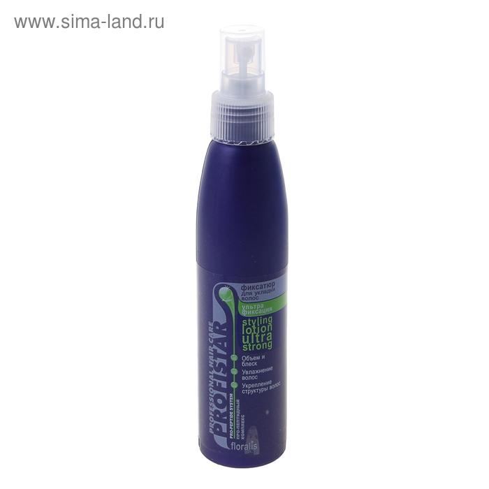 Фиксатюр для укладки волос Ультрафиксация 150мл