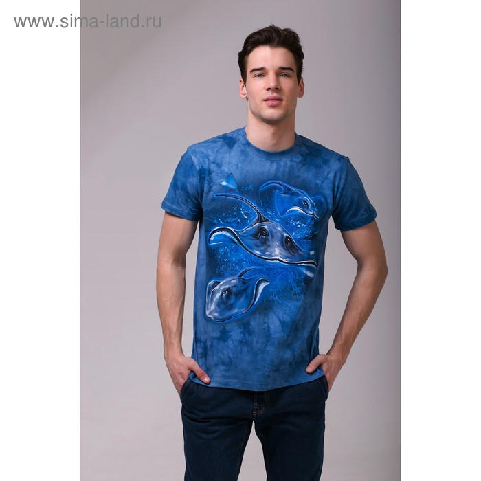 Футболка мужская Collorista 3D Skate, размер XL (50), цвет синий