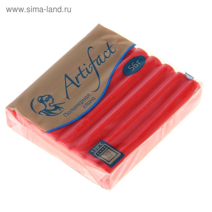 Пластика - полимерная глина 56г классический Алый