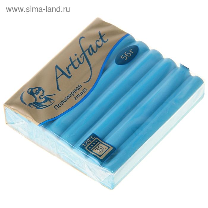 Пластика - полимерная глина 56г классический Голубой топаз, новая формула