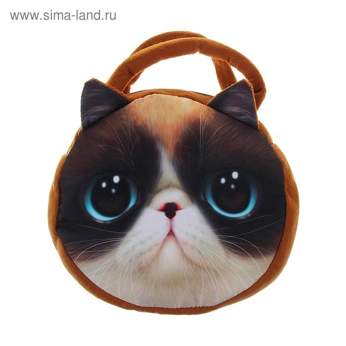 """Мягкая сумочка """"Киса"""" милашка"""
