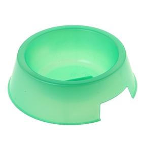 Миска 'Для любимца', 0,4 л, перламутровая, зеленая Ош