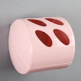 Держатель для туалетной бумаги Aqua, цвет МИКС Ош