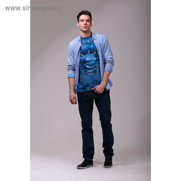 Футболка мужская Collorista 3D Hunt, размер M (46), цвет синий