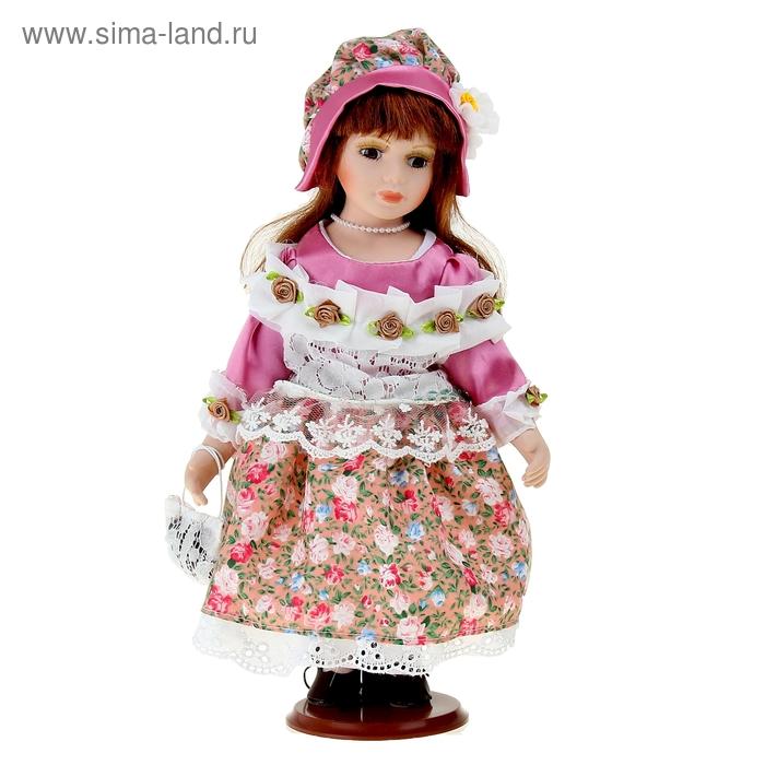 """Кукла коллекционная """"Ярослава в цветочном платье"""""""