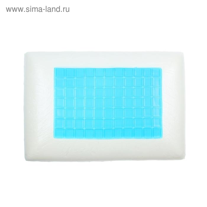 """Подушка """"Сновиденье"""" с охлаждающим гелем и памятью формы, размер 40х60 см, пенополиуритан"""