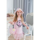 Детский набор панама+сумка размер 50-52  16*20 см, цвет розовый