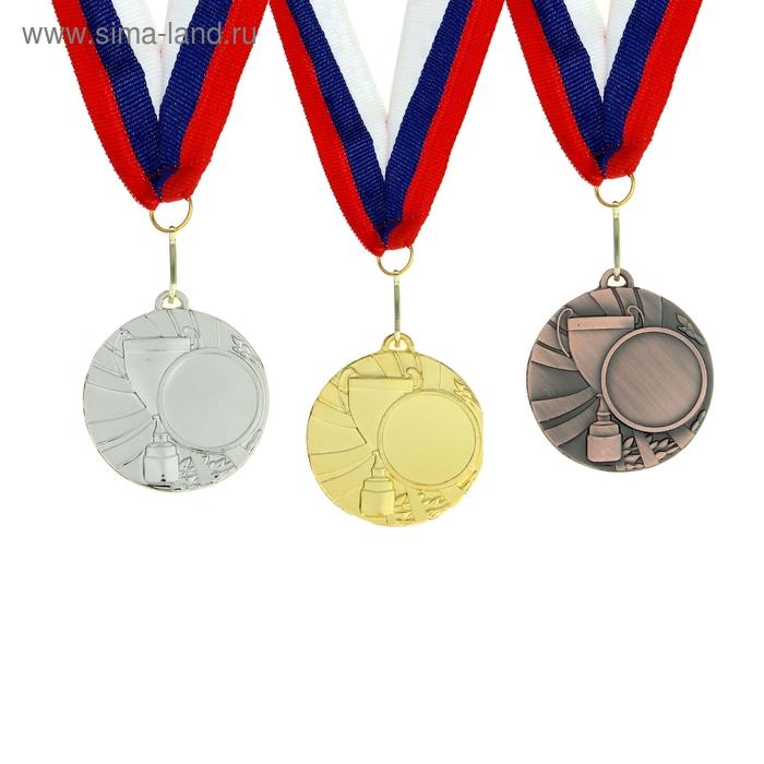 Медаль под нанесение 020, d=5, серебро