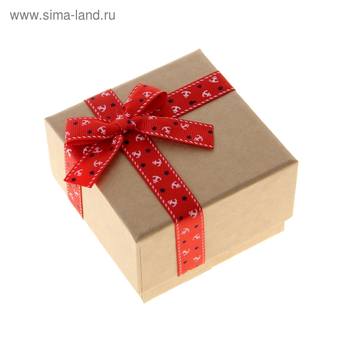 "Коробка подарочная крафт ""Якорь"""