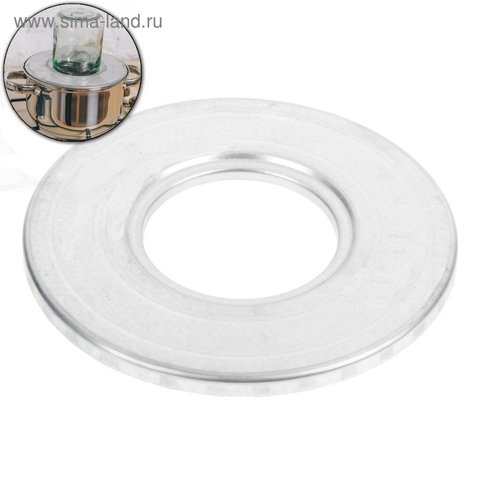 Приспособление для фиксации стеклянной банки при стерилизации, внешний d=185 мм, внутренний d=82 мм