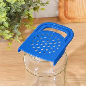 Крышка для слива пластик, в коробке, МИКС