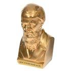 """Статуэтка """"Бюст Достоевского"""" золото"""