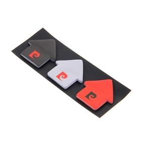 Флажки с клеевым краем фигурные Pierre Cardin 3*30 4.5*4.5см бумажные Ош