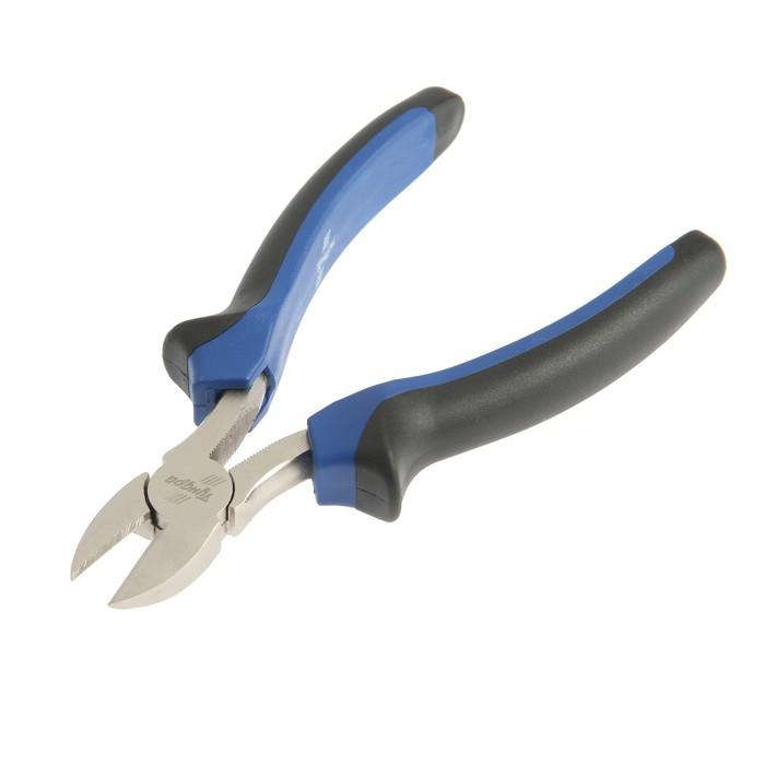 """Бокорезы """"TUNDRA comfort"""" никелированные 160 мм"""