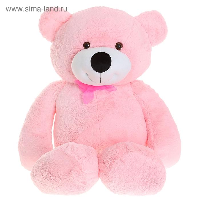 """Мягкая игрушка """"Медведь Мишутка"""", цвет розовый"""