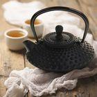 """Чайник с ситом 500 мл """"Марокко"""", цвет черный"""