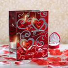 """Подсвечник на 2 свечи """"Драгоценное сердце"""""""
