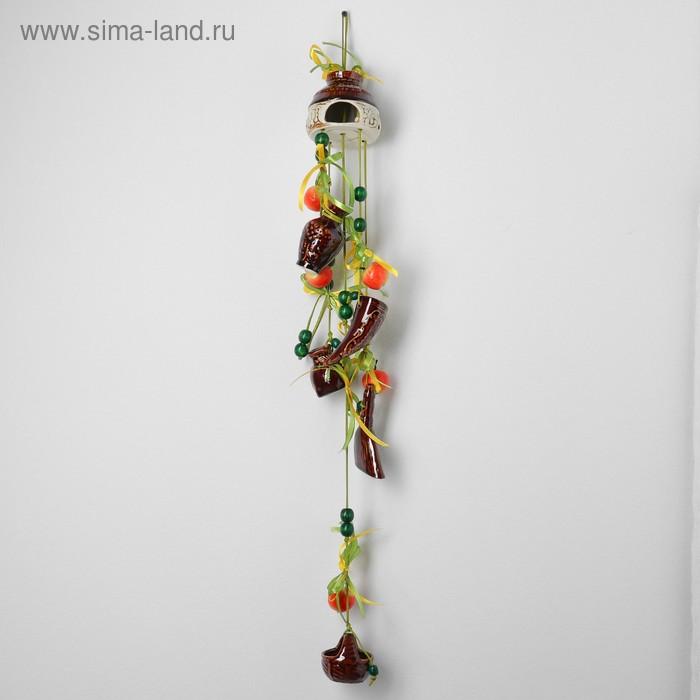 """Оберег """"Дом"""" круглый, с фруктами"""
