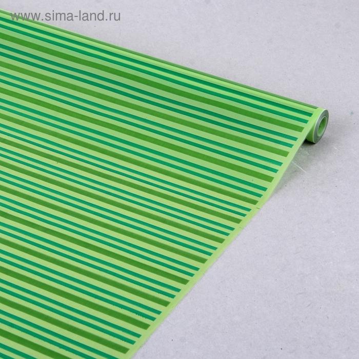 """Пленка для цветов CartaPack """"Verona"""" зеленый 700 мм х 8.5 м, 35 мкм"""