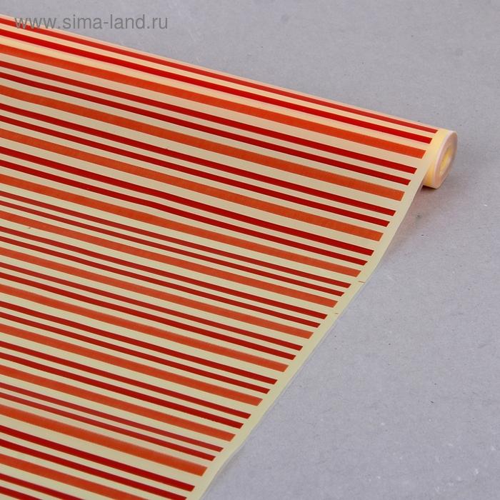 "Пленка для цветов СartaPack ""Verona"" оранжевый 600 мм х 8.5 м"