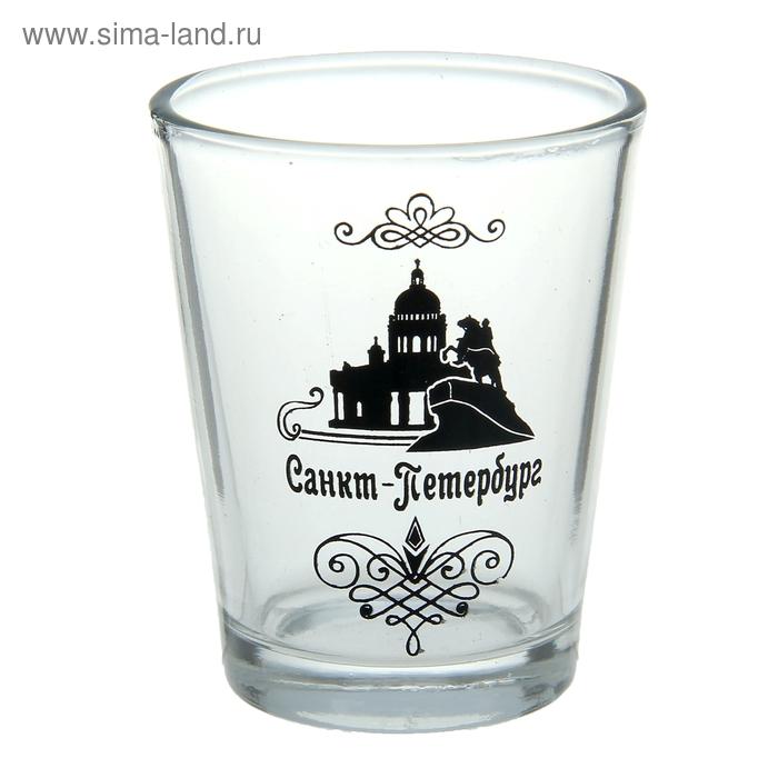 """Рюмка сувенирная """"Санкт-Петербург"""""""