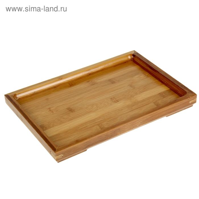 Поднос бамбук, 33*23*3 см