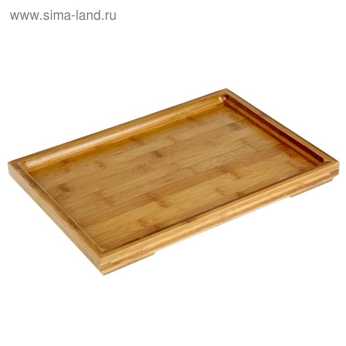 Поднос бамбук, 36*25*3 см
