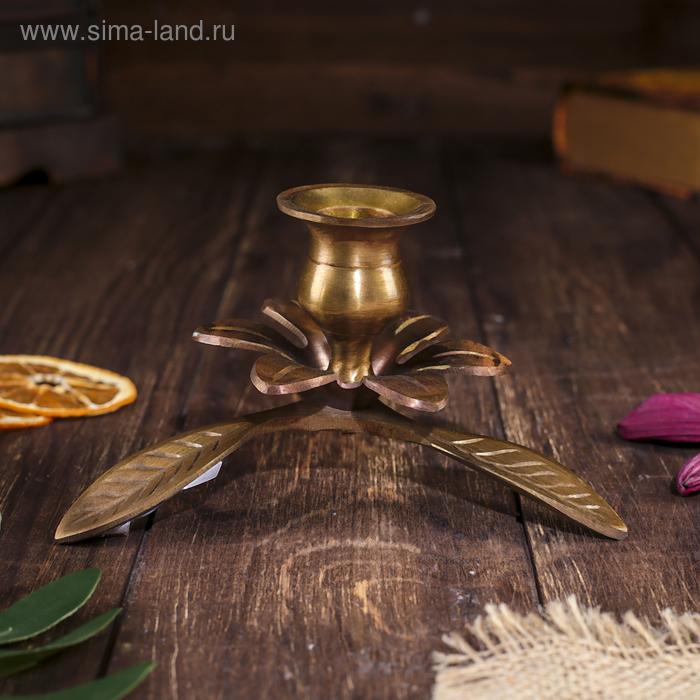 """Подсвечник на 1 свечу """"Олива - Антик"""""""