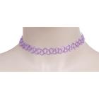 Чокер, цвет фиолетовый