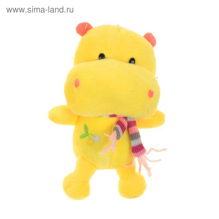 """Мягкая игрушка """"Бегемот"""", цвета МИКС"""