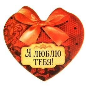 Фигурная наклейка с ароматом 'Я тебя люблю', аромат ванили и шоколада Ош