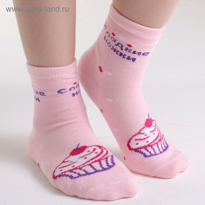 """Носки детские Collorista """"Сладкие ножки"""", возраст 3-7 лет"""