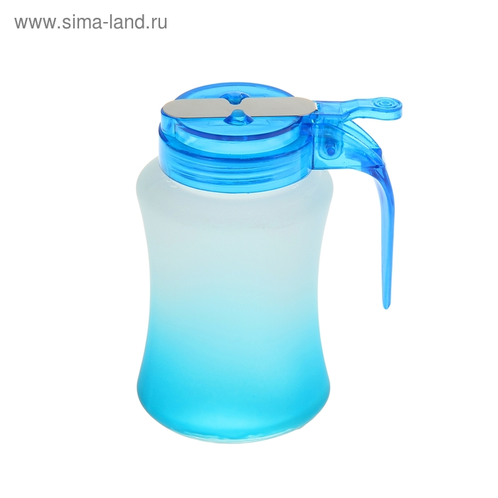"Сахарница ""Омбре"" 250 мл, голубая"