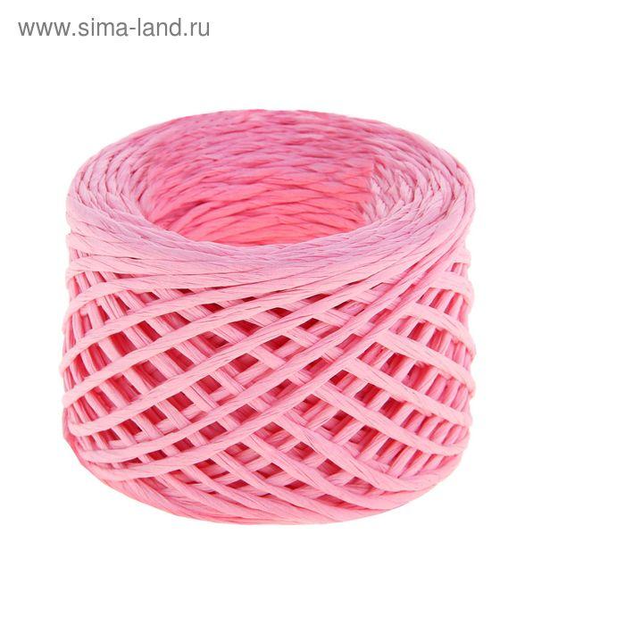 Шпагат декоративный, цвет светло-розовый