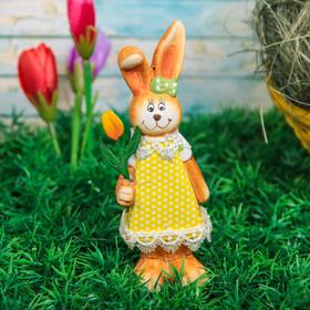 """Сувенир """"Кролик с цветком/ воздушным шаром"""" МИКС"""