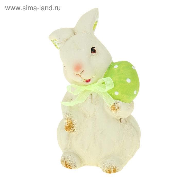 """Сувенир """"Кролик с пасхальным яйцом"""""""