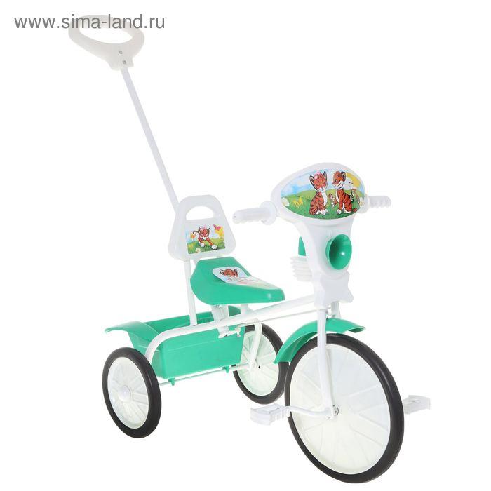 """Велосипед трехколесный """"Малыш"""" 09/3, цвет: зеленый, фасовка: 2 шт."""