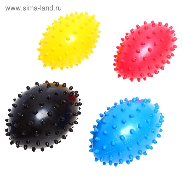 Мяч гандбол массажный, 23 см, 30 гр, цвета МИКС