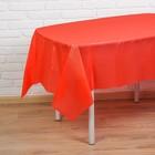 """Скатерть """"Праздничный стол"""", цвет: красный, 137х183"""