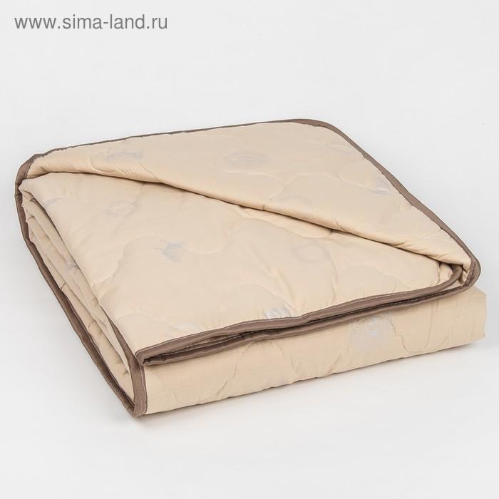 """Одеяло облегчённое Адамас """"Овечья шерсть"""", размер 140х205 ± 5 см, 200гр/м2, чехол тик"""