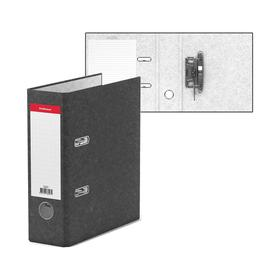Папка-регистратор А5, 70мм мраморный BASIC серый, EK 36097