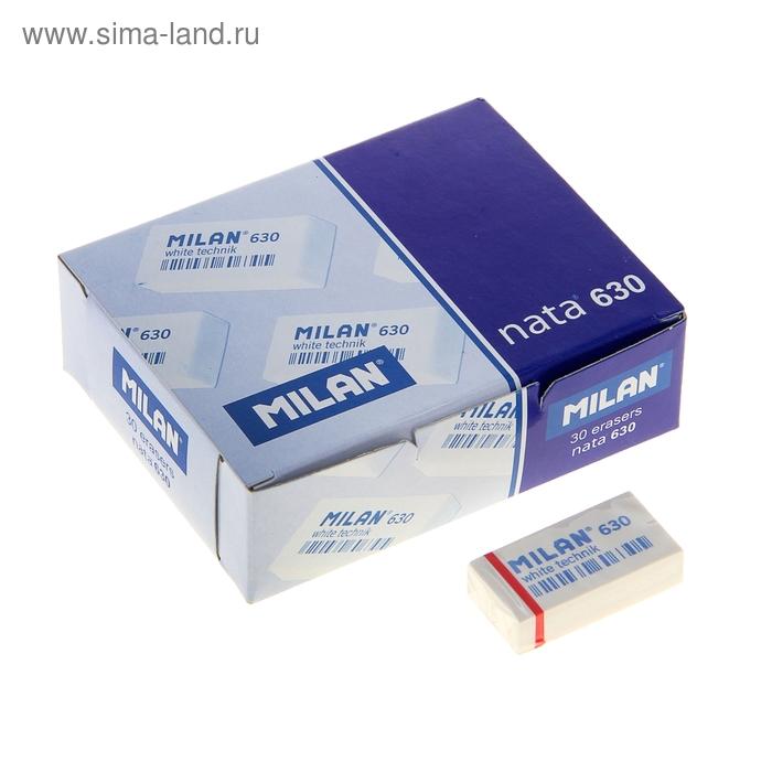 """Ластик MILAN 630 """"White Technic"""", каучук, 40х13х10 мм"""