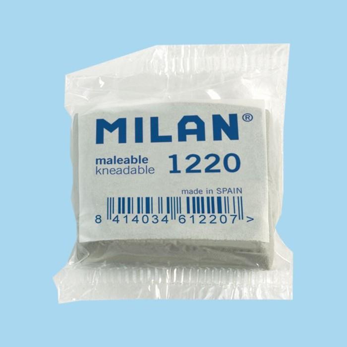 Ластик-клячка MILAN 1220, 37х32х10 мм