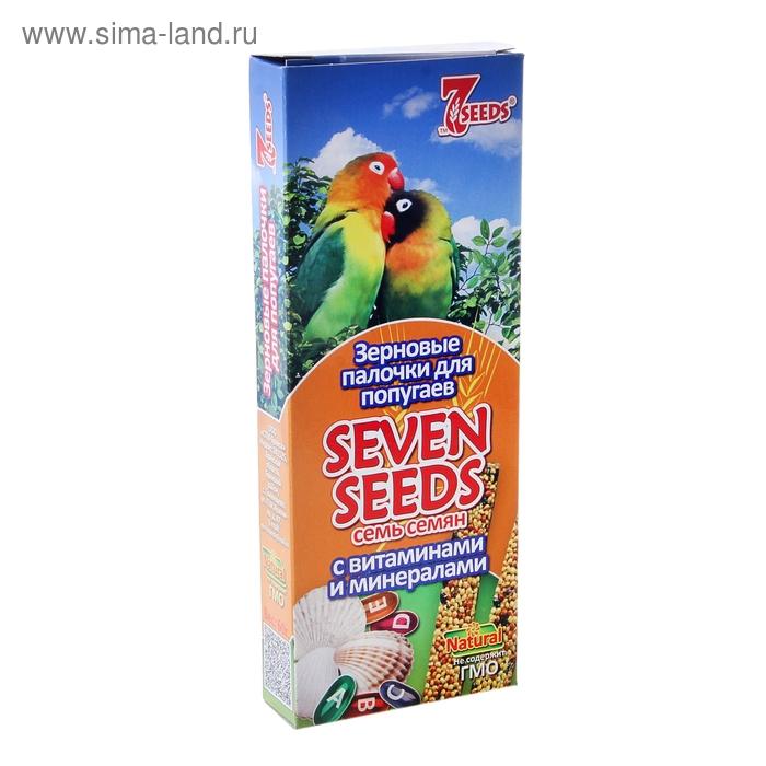 Палочки для попугаев Seven Seeds, с витаминами и минералами, 2 шт.