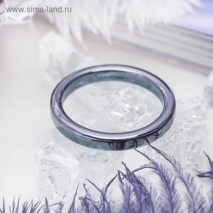 "Кольцо ""Гематит"" 2 мм, размер МИКС"