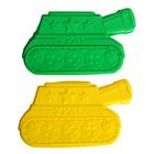 "Форма для выпечки ""Ура"", зеленый, 25 х 14,5 см, глубина 4 см"