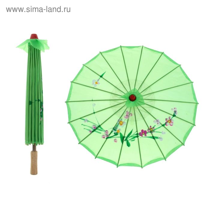 Китайский зонтик , зелёный