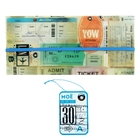 """Туристический конверт для документов + бирка для чемодана """"Билеты"""""""