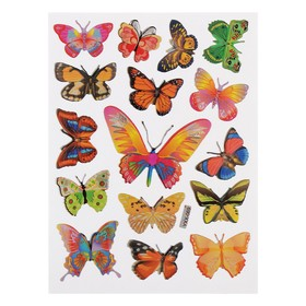 "Наклейка ""Бабочки "" (набор 10 шт)"