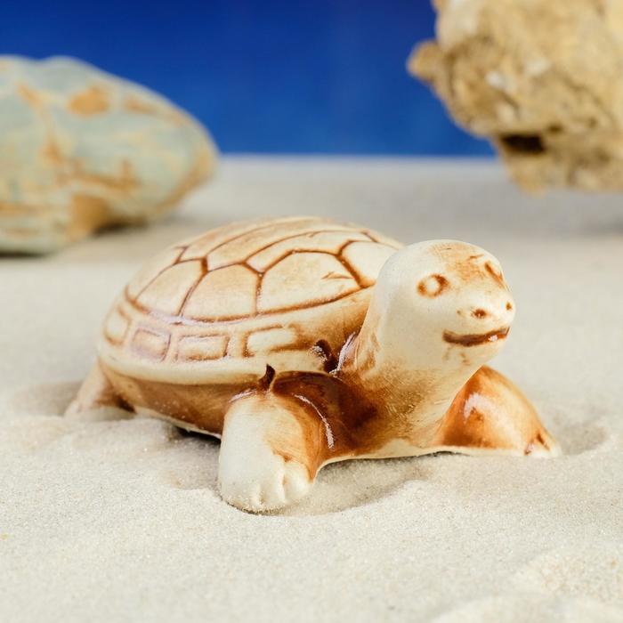 "Декорации для аквариума ""Черепаха"" микс"